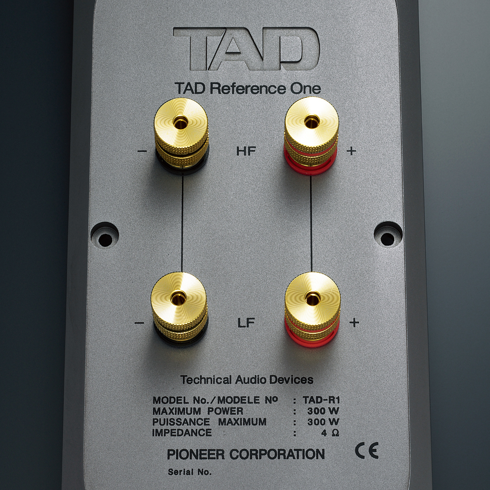 Large machined speaker terminals